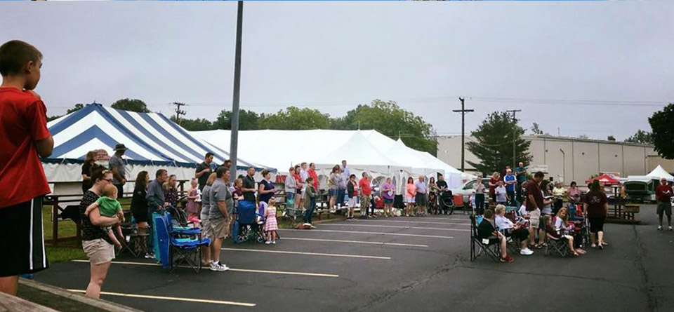 Utica_UMC Sertoma Ice Cream Festival Church Service